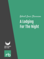 A Lodging For The Night, by Robert Louis Stevenson, read by Lynne Thompson